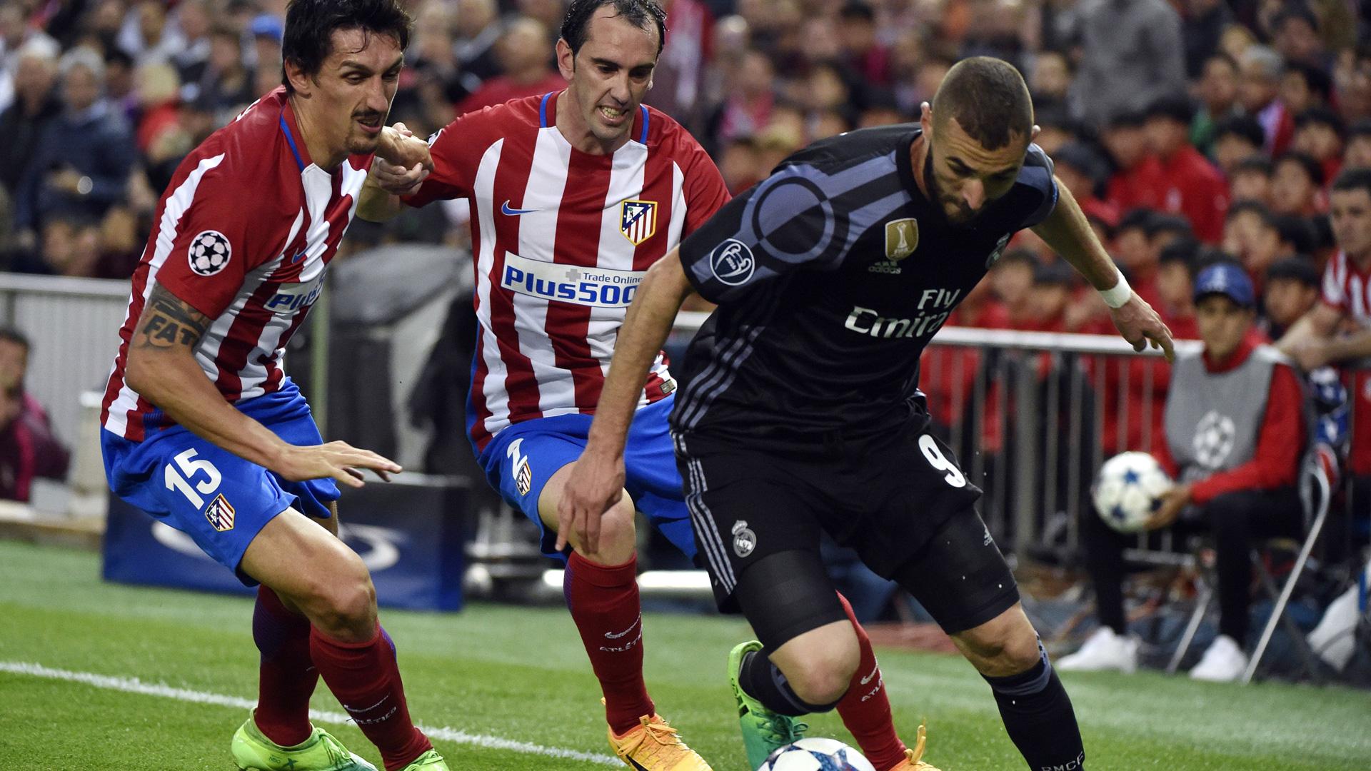 Karim Benzema Real Madrid Champions League Atletico 051017