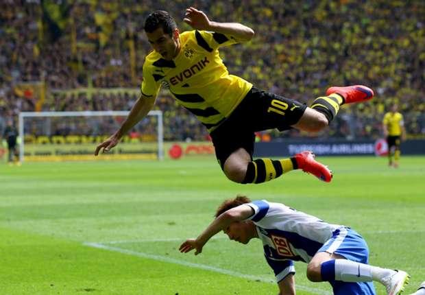 Borussia Dortmund 2-0 Hertha Berlin: Subotic and Durm give hosts vital win