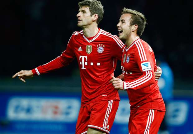 Bundsliga Team of the Week: Gotze & Lahm secure title for Bayern Munich