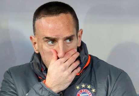 Ribery bei Bayern nur auf der Bank