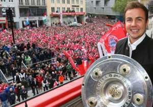 Voor naar verluidt €25 miljoen keert Mario Götze van Bayern München terug naar Borussa Dortmund. De 24-jarige komt nu twee keer voor in de top 10 met duurste Duitse binnenlandse transfers.