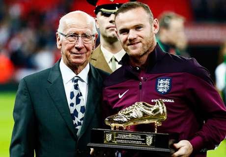Rooney Englands Fußballer des Jahres