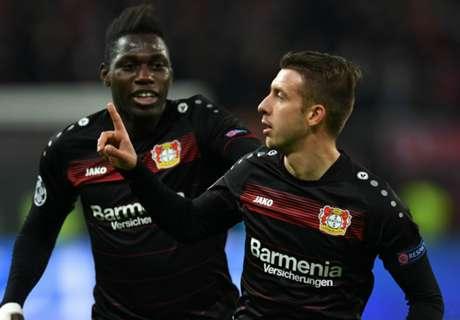 Leverkusen get easy win over Monaco