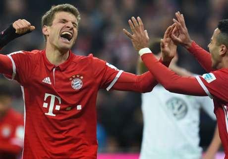 Galerie: Ein Spieltag für die Bayern