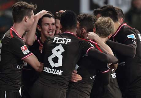 St. Pauli schießt Karlsruhe ab