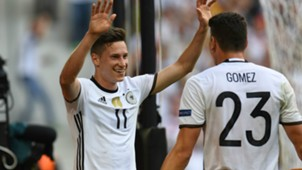 Julian Draxler Germany European Championship 26062016
