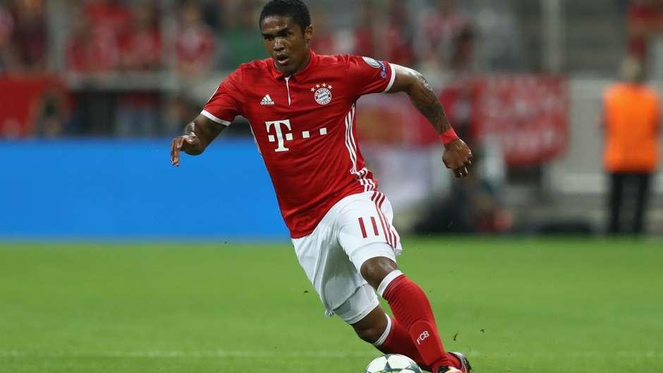 Douglas Costa FC Bayern Champions League 13092016