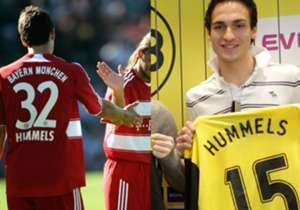 Mats Hummels will vom BVB zum FC Bayern und er ist nicht der Erste: In der Geschichte der beiden Vereine haben schon so einige Spieler die Trikots beider Klubs getragen. Goal hat sie für Euch zusammengestellt.