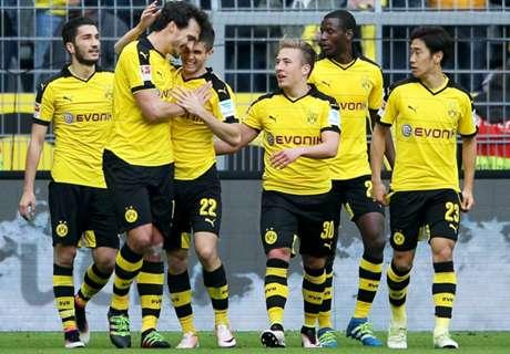 Bundesliga: Bor.Dortmund 3-0 Hamburgo