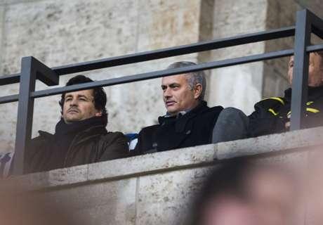 Galerie: Mourinho im Olympiastadion