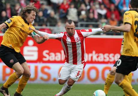 3. Liga: Dresden 0:0 in Halle