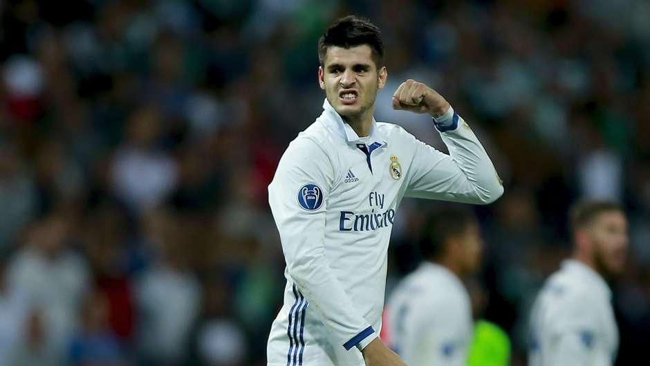 Alvaro Morata Real Madrid 14092016