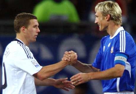 DFB-Team nach der EM gegen Finnland