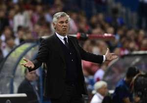 War mit der Leistung des FC Bayern im Spiel bei Atletico nicht einverstanden: Carlo Ancelotti