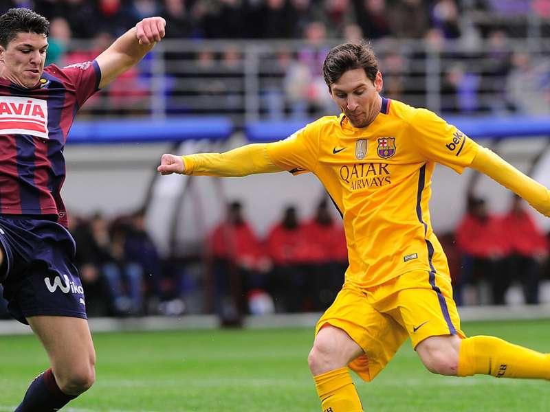 Weltfußballer Lionel Messi bricht den nächsten Rekord
