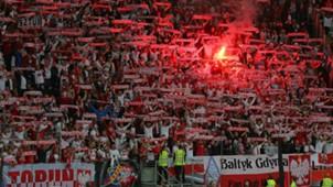 Deutschland Polen Fans 04092015