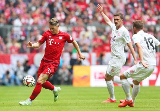 Bayern Munich 2-0 Mainz: Guardiola's men end on a high