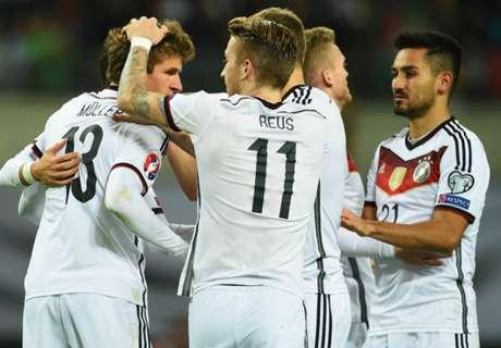 Alemania se clasificó a la Euro 2016