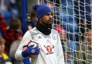Bis Dienstag musste Diego Costa alleine seine Runden auf dem Trainingsplatz drehen