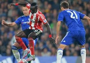 GELANDANG - SADIO MANE (Southampton) - Gesit, pantang menyerah dan berani bertarung. Itu kesan yang muncul ketika Mane membantu Southampton mempermalukan Chelsea di kandang sendiri.