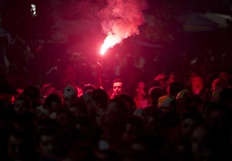 Galerie: Heißes Duell in Albanien
