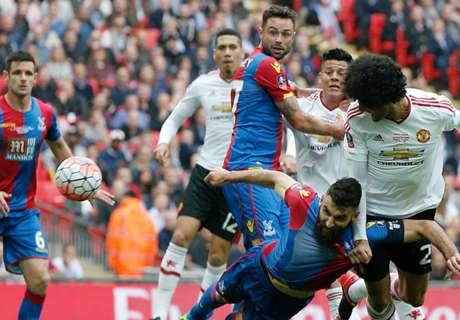 FA Cup: Crystal Palace 1-2 Man. United