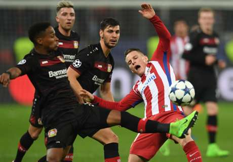 Gameiro shines up top as Atletico win