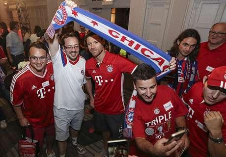 Bayern's Audi Summer Tour
