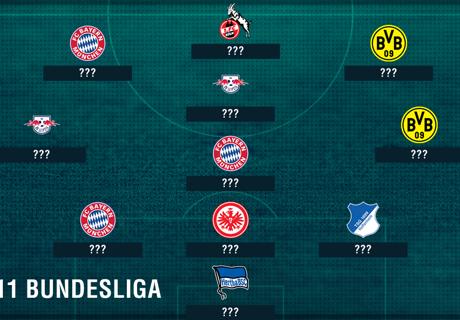 Bundesliga Team van het Seizoen