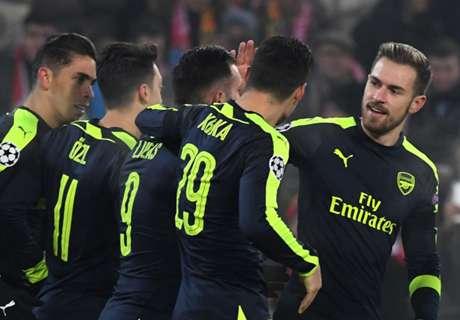 Arsenal sichert Gruppensieg, PSG patzt