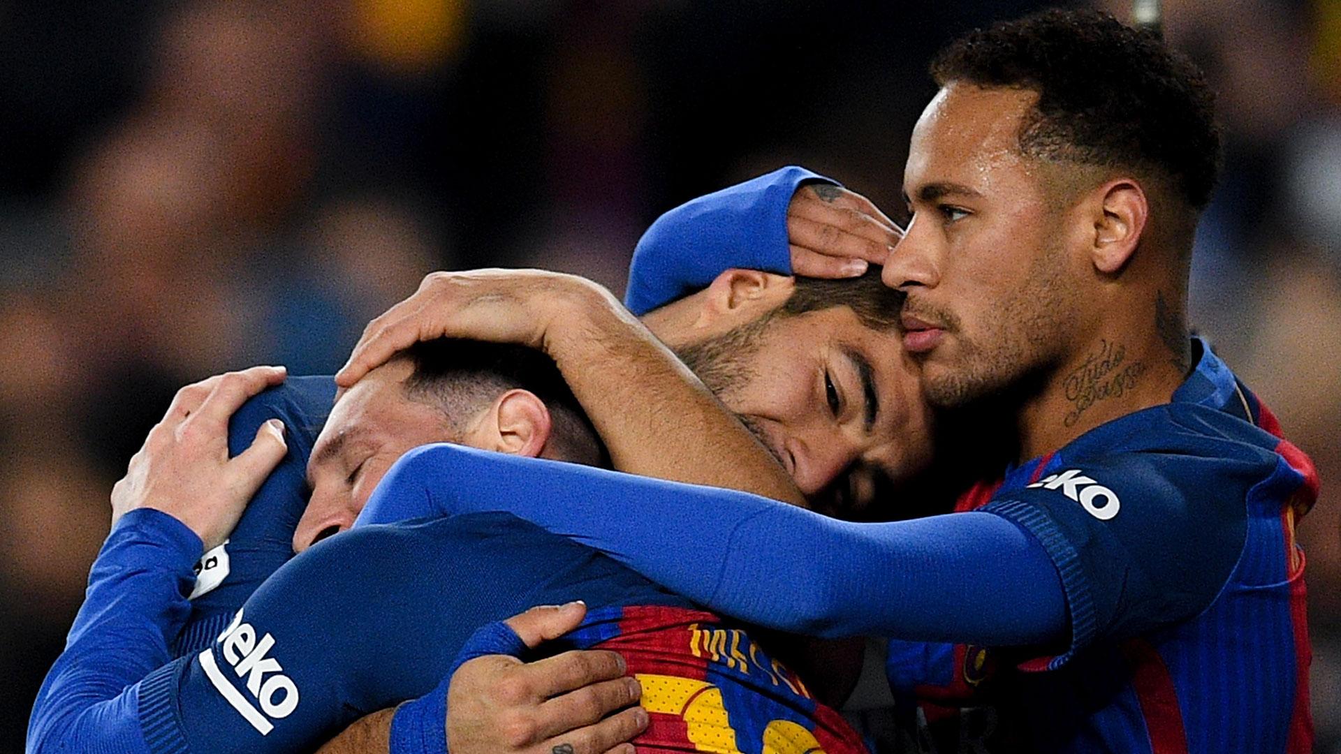 Messi, Neymar, Suarez 12182016