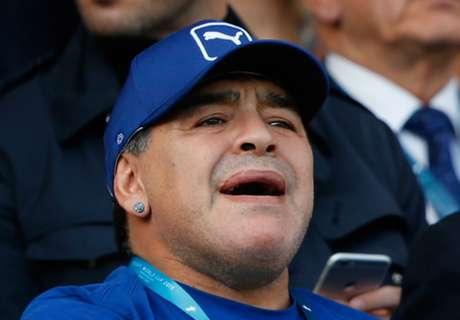A Diego no le gustó la venta de Higuaín