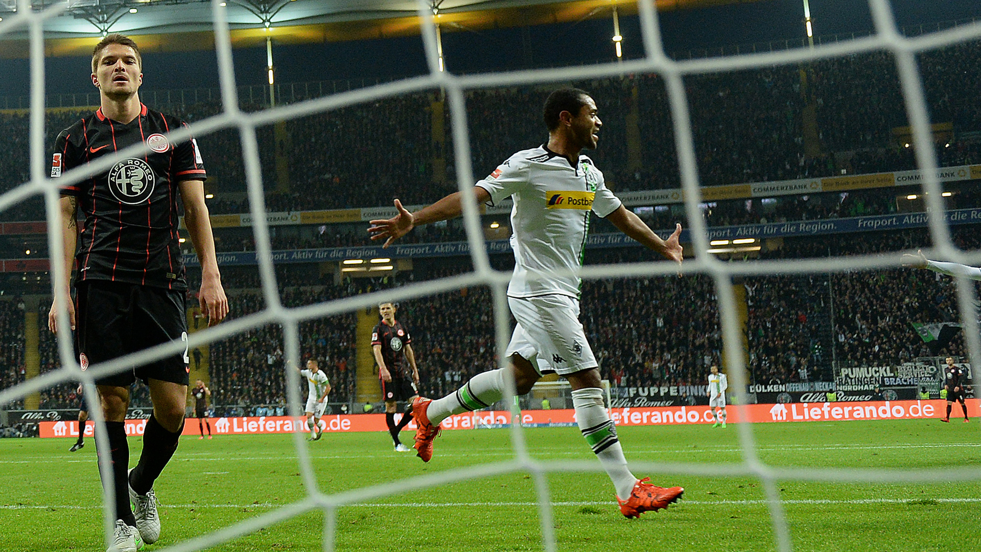 Video: Eintracht Frankfurt vs Borussia M gladbach
