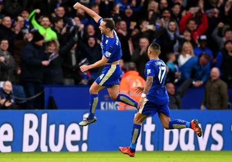 Leicester sigue arriba