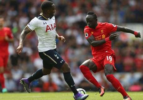 Premier: Tottenham 1-1 Liverpool