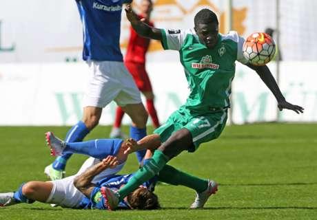 Tests: Manneh-Show bei Werder-Sieg