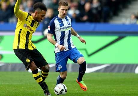 Cuplikan: Hertha Berlin 2-1 Borussia Dortmund