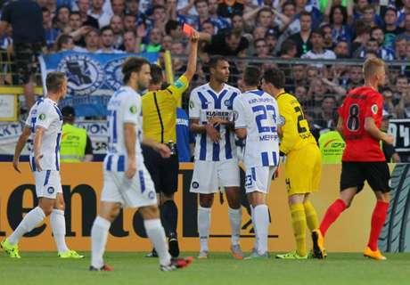 Pokal: KSC und Hoffenheim düpiert
