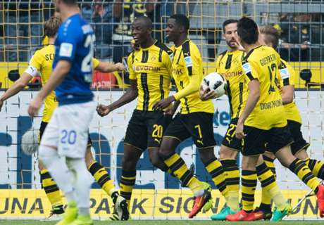 Castro stars in Dortmund rout