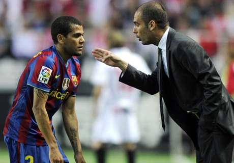 Guardiola querría fichar a Dani Alves
