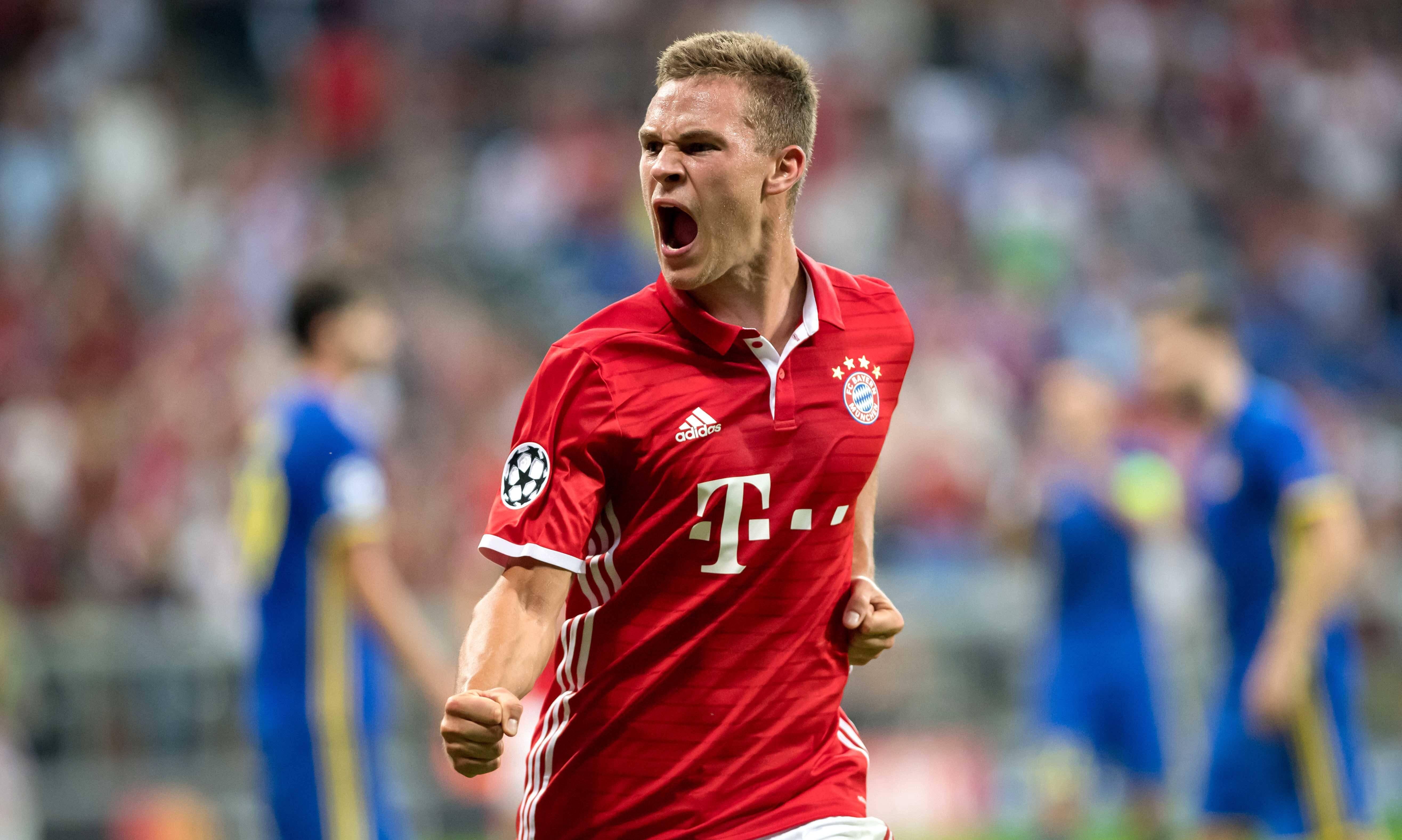 'GER ONLY / NO GALLERY* Joshua Kimmich FC Bayern Rostov 20160913