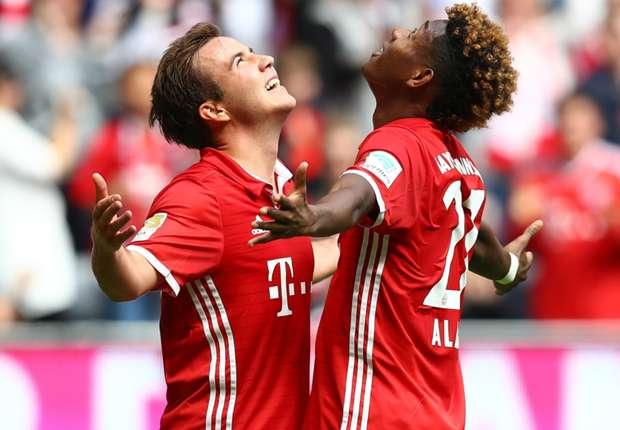 ไฮไลท์  Bayern Munich 3 - 1 Hannover 96
