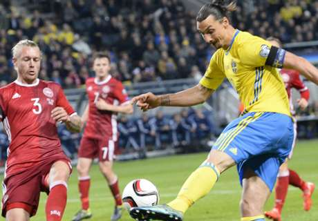 เสียอเวย์โกล! สวีเดนเชือดเดนมาร์ก 2-1 เพลย์ออฟยูโรนัดแรก
