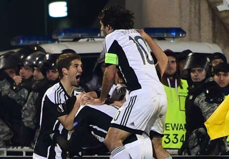 Ratings: Partizan 1-3 Augsburg