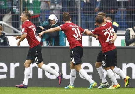 Hannover 96 schießt Fortuna mit 6:1 ab