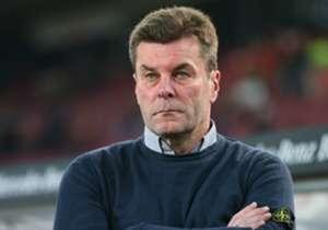 Dieter Hecking war alles andere als zufrieden mit der Leistung des VfL auf Schalke