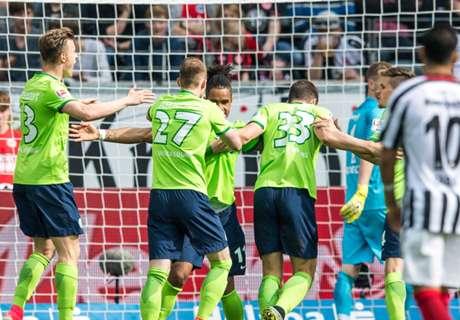 REVIEW Bundesliga: Wolfsburg Jauhi Zona Merah