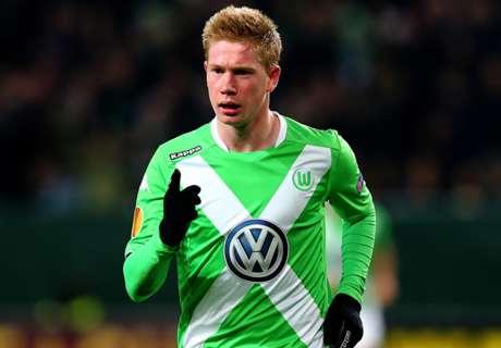 Transfer Talk: City want De Bruyne