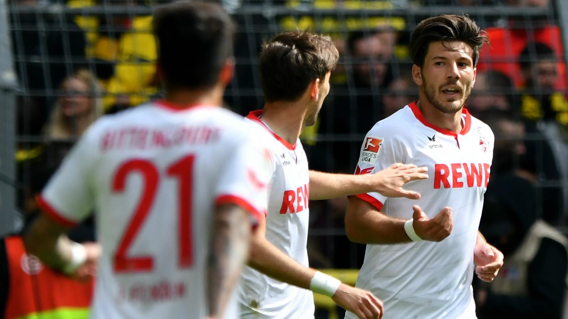 Milos Jojic Borussia Dortmund 1 FC Koln Bundesliga 14052016