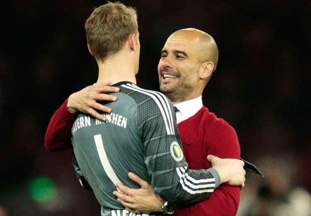 Neuer not going to Manchester City - Guardiola